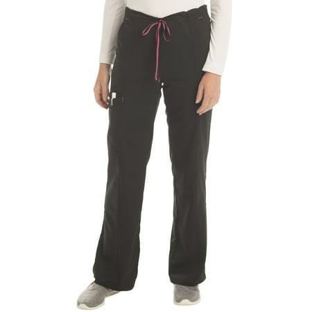 Scrubstar Women's Premium Collection Rayon Drawstring Cargo Scrub Pant Drawstring Cargo Scrub Pants