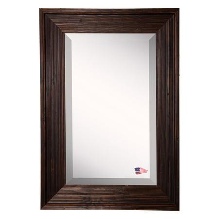 Rayne Mirrors Barnwood Brown Wall Mirror