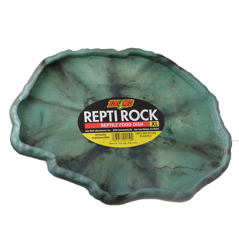 Zoo Med Repti Rock - Reptile Food Dish X-Large - Pack of 3