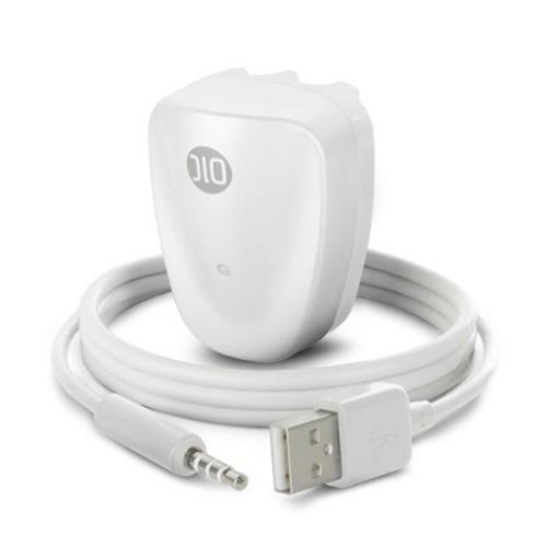 DLO DLZ87546B PowerBug Charger/Dock for iPod Shuffle 2G (White)