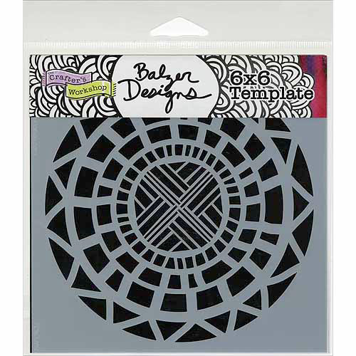 Crafters Workshop Templates 6 Inch X 6 Inch-Celtic Circle