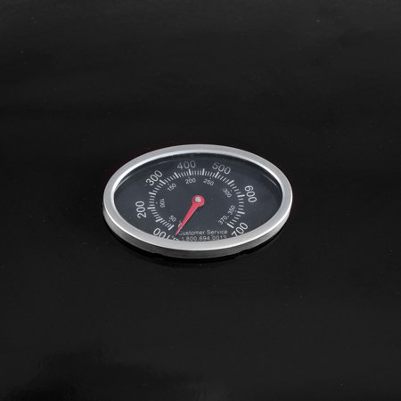 RevoAce 3-Burner Gas Grill with Side Burner, Black, GBC1729W