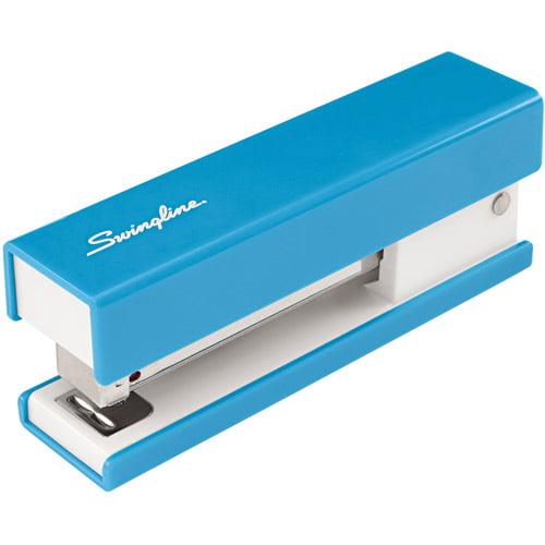Swingline Half Strip Fashion Stapler, Blue