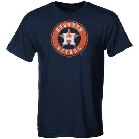 Houston Astros Youth Distressed Logo T-Shirt - Navy Blue - University Of Houston Logo