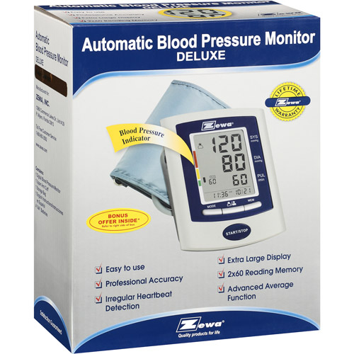 Zewa Deluxe Automatic Blood Pressure Monitor : with PC Software