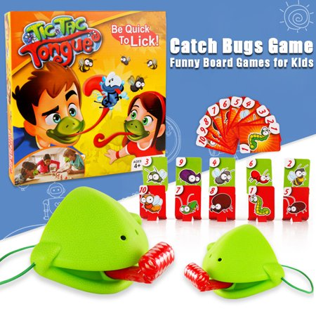 Outtop Funny Take Card-Eat Pest Catch Bugs Game Desktop Games Board Games for - Halloween Catch Phrase Game