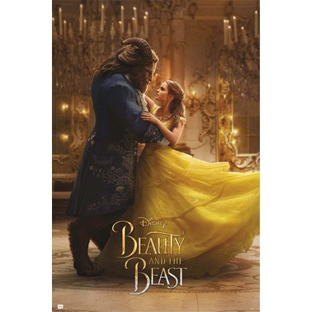 - Beauty And The Beast - Movie Poster / Print (Belle & The Beast - Dancing) (Size: 24