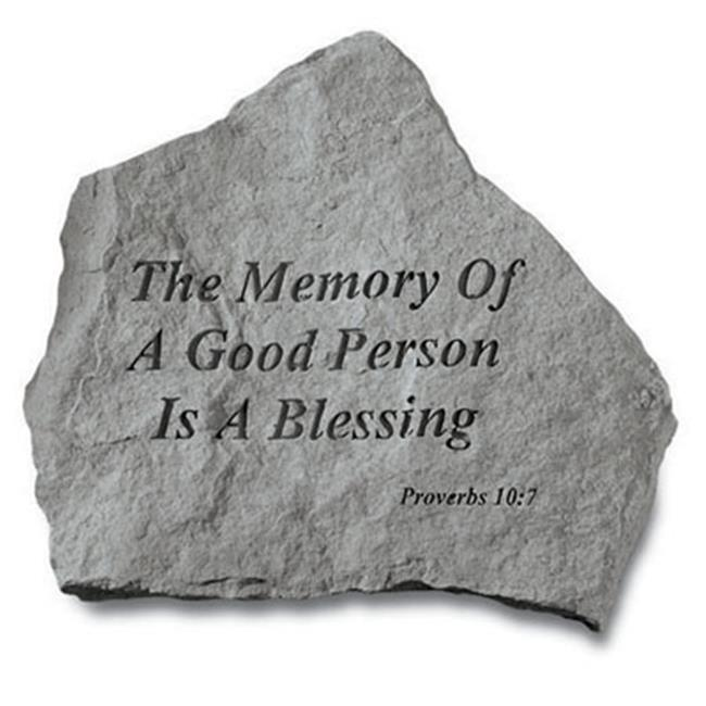 Kay Berry- Inc.  93120 The Memory Of A Good Person - Memorial 15. 25 Inches x 14 Inches