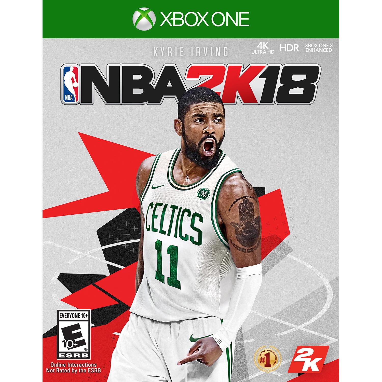 NBA 2K18, 2K, Xbox One, PRE-OWNED, 886162299694