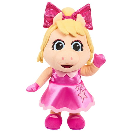 Muppet Babies Sing & Shake Piggy Feature Plush