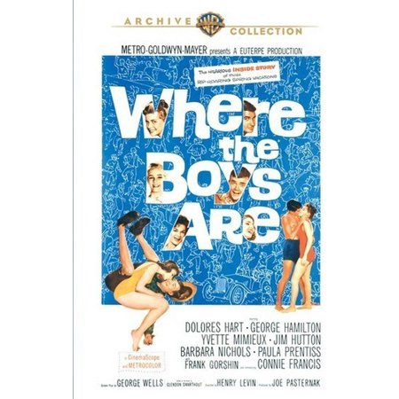 Where the Boys Are (1960) (DVD)