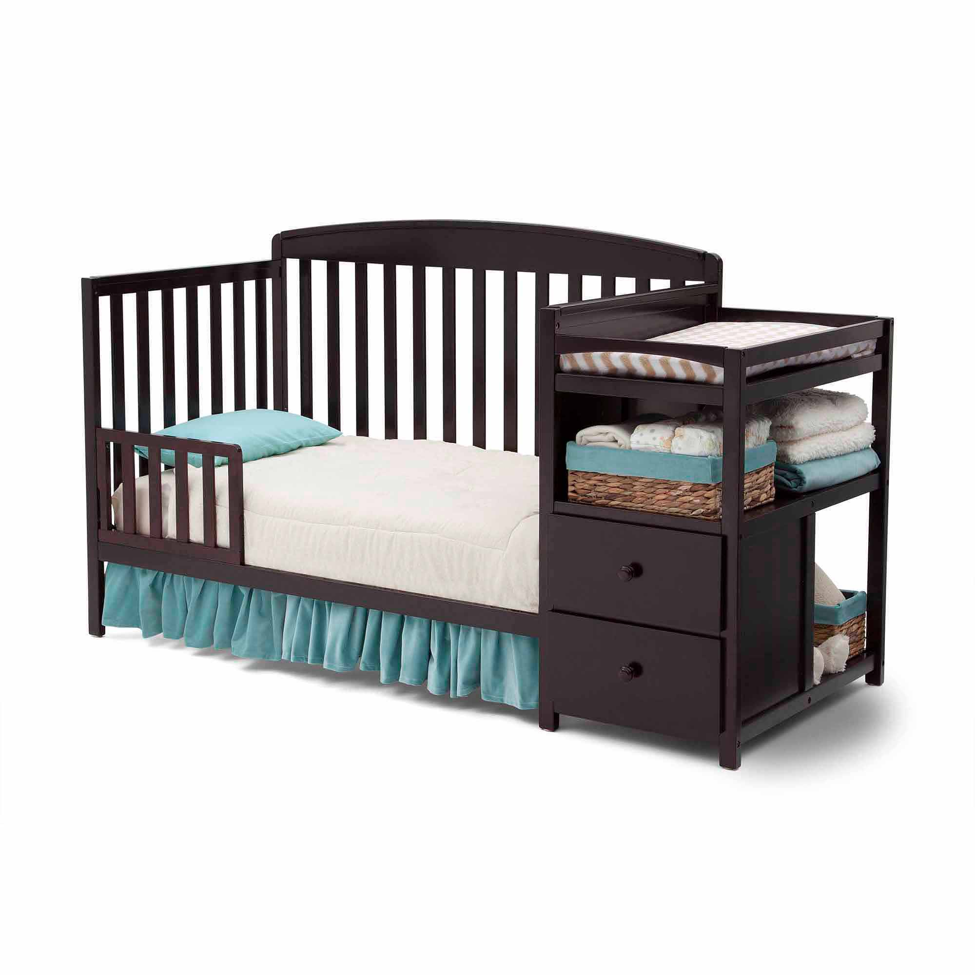 Delta Children Royal Convertible Crib N Changer, (Choose Your Finish)    Walmart.com