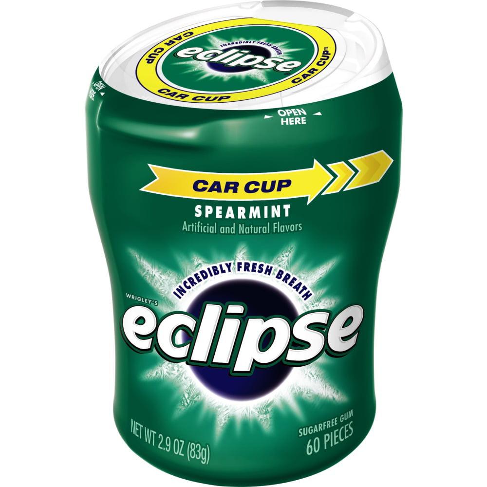 Eclipse Spearmint Sugarfree Gum, 60 piece bottle