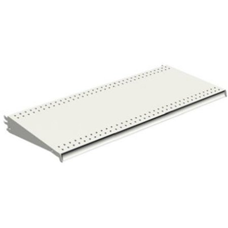 Lozier Store Fixtures DL316N WHT 3 ft. Wide x 16 in. Deep, White Lozier Shelf - Pack Of 2 ()