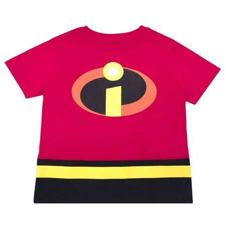 730969b69c04 The Incredibles Disney's Pixar Shirt - Toddler Boys 'Strong, Fast,  Incredible' Incredibles T-Shirt (Red Logo, 3T) - Walmart.com