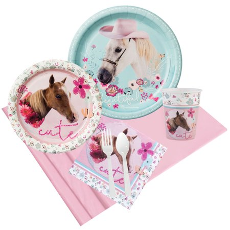 Rachael Hale Beautiful Horse Party Pack for 8](Horse Theme Party Supplies)