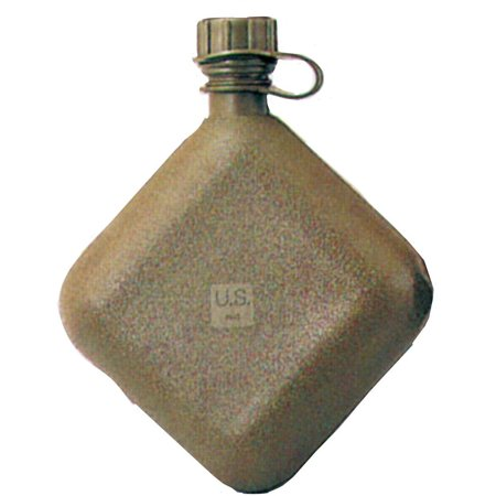 Nylon 2 Qt Bladder Canteen (G.I. Olive Drab 2 Quart Bladder Canteen)
