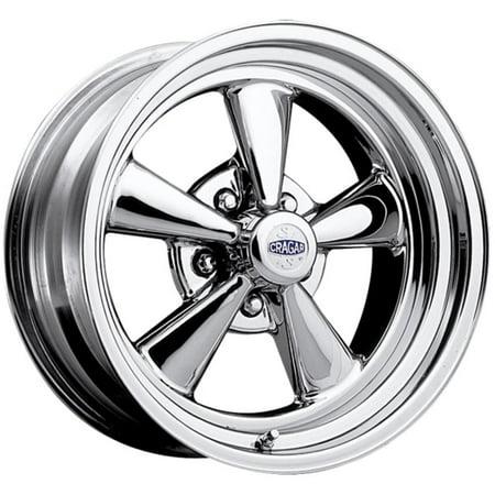 (Cragar 61C S/S 15X10 5X4.50 -32et Chrome Plated Wheels Rims)