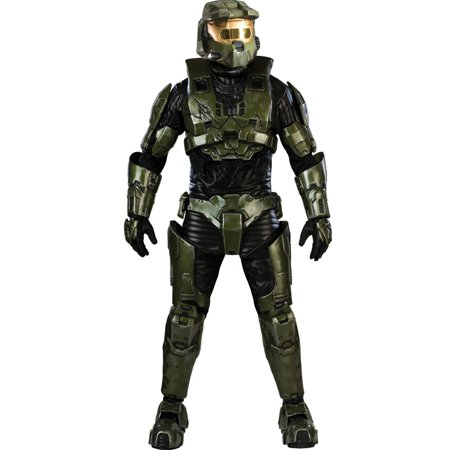 halo master chief collectors adult halloween costume - Halloween Halo