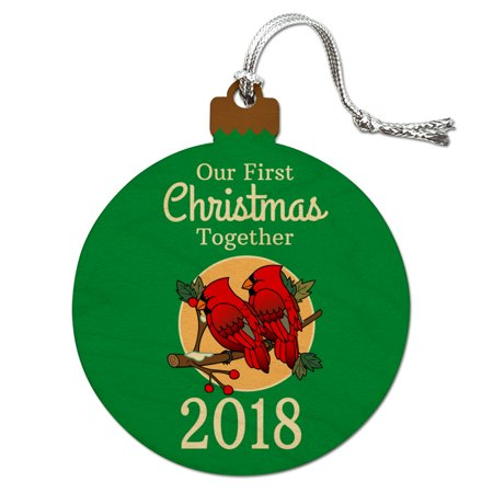 Our First Christmas Together 2018 Red Cardinals on Branch ...