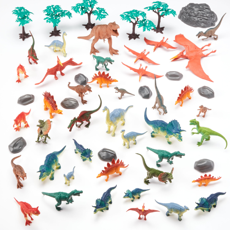 55-Piece Jumbo Dinosaurs Bucket