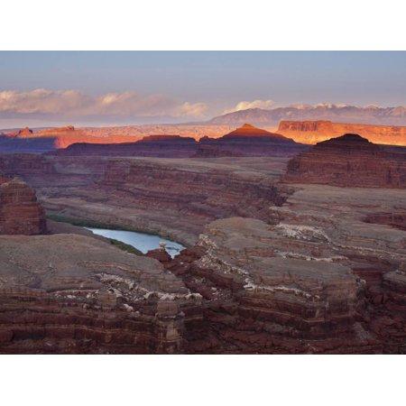 The White Rim Trail in Canyonlands National Park, Near Moab, Utah Print Wall Art By Sergio Ballivian