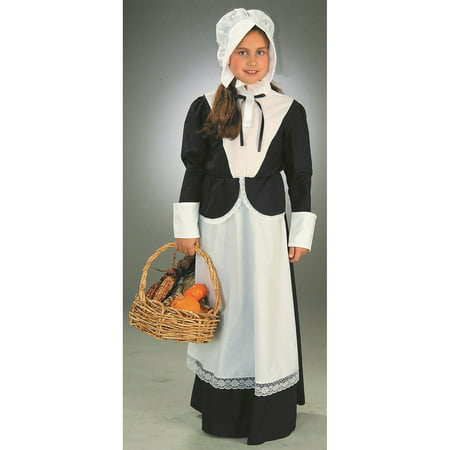 Girls Pilgrim Costume (Dog Pilgrim Costume)