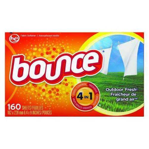 Dryer Sheets, Bounce, PGC 80168