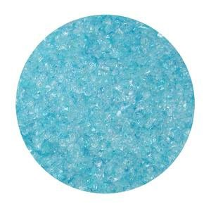Aqua Blue Iridized Transparent Frit - Medium By System 96 Ship from -