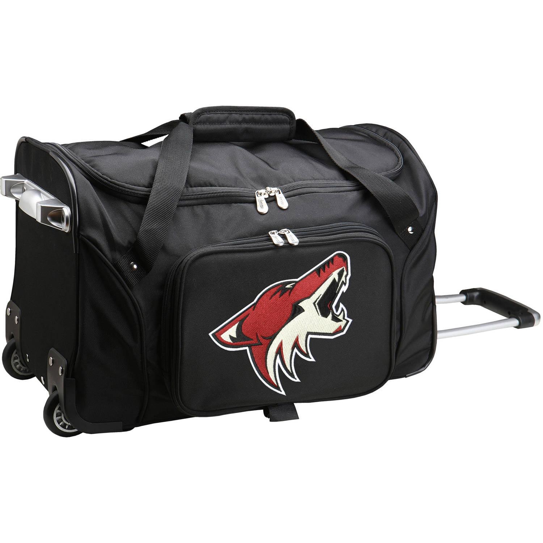 "Denco NHL 22"" Rolling Duffel, Phoenix Coyotes by Mojo Licensing"