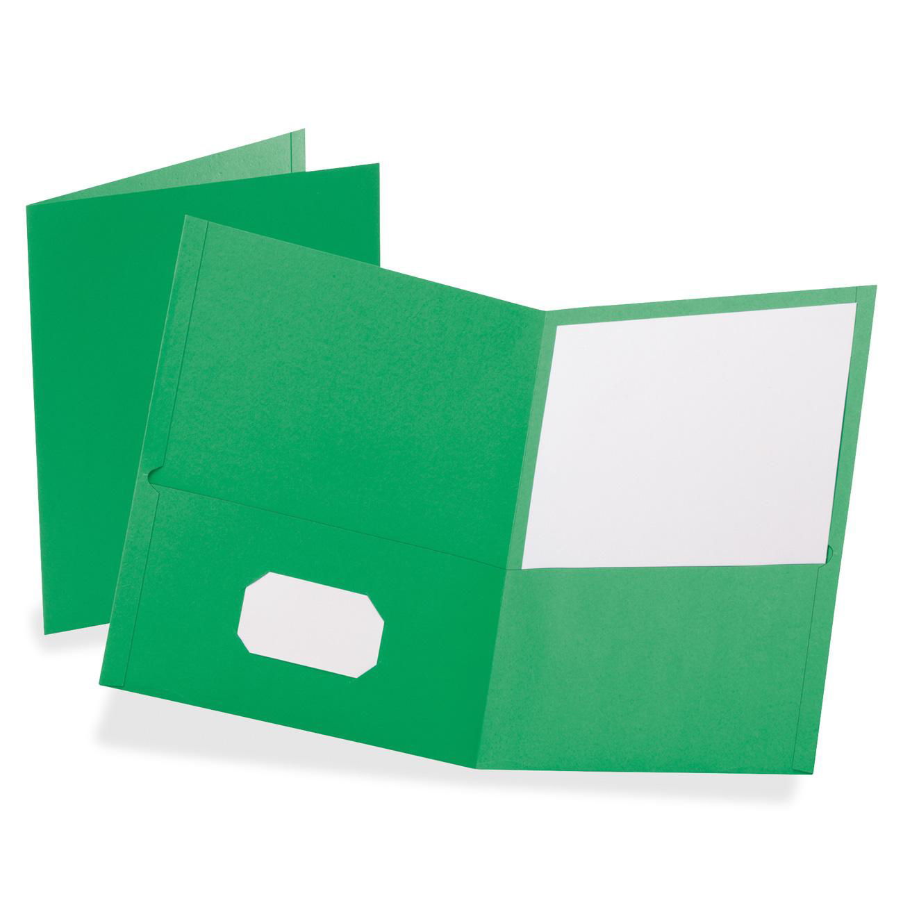 Oxford Twin Pocket Letter-size Folders - Walmart.com