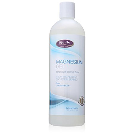 Brine Gel (Magnesium Body Gel - Magnesium Chloride Brine Concentrated Gel 16 oz)