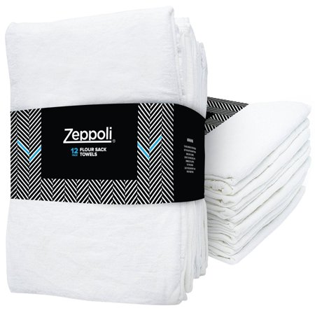 Zeppoli 12-Pack Flour Sack Towels - 31\