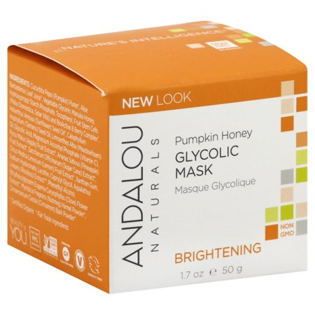 Andalou Naturals Pumpkin Honey Glycolic Mask, 1.7 oz