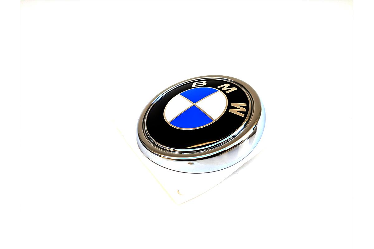 Set of 2 BMW Original Spout for Bonnet Emblem