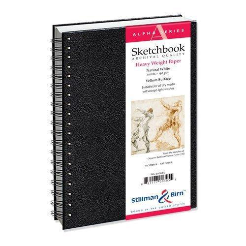Alpha Wirebound Sketchbook 9x12