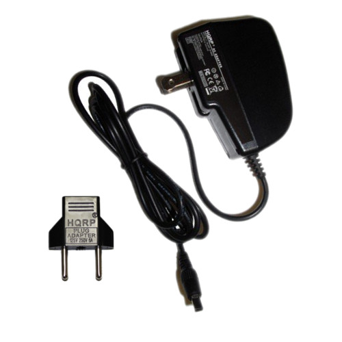 Square Connector for Samsung SC-MX20CH SC-MX20E SC-MX20EL SC-MX20ER SC-MX20H Camcorder Plus Euro Plug Adapter Charger HQRP Wall AC Power Adapter