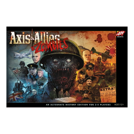 Wizards of the Coast Axis & Allies and Zombies Board Game](Zombie Party Games)