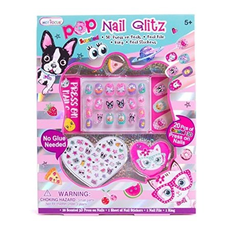 Best Halloween Nail Designs (Hot Focus Pop Nail Glitz - Best Pals Nail Art Kit for)