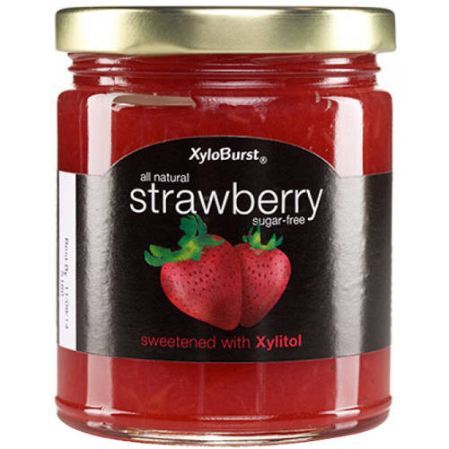XyloBurst Sugar-Free Strawberry Jam, 10 oz, (Pack of 2)