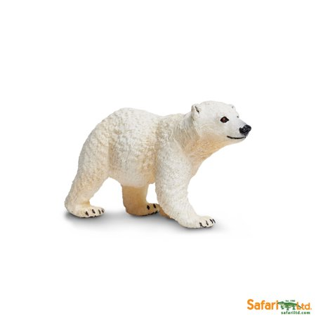 Polar Bear Cub Figurine By Safari Ltd - SAF273429