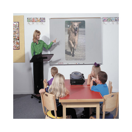 Best-Rite Projection Plus Magnetic Wall Mounted Interactive Whiteboard