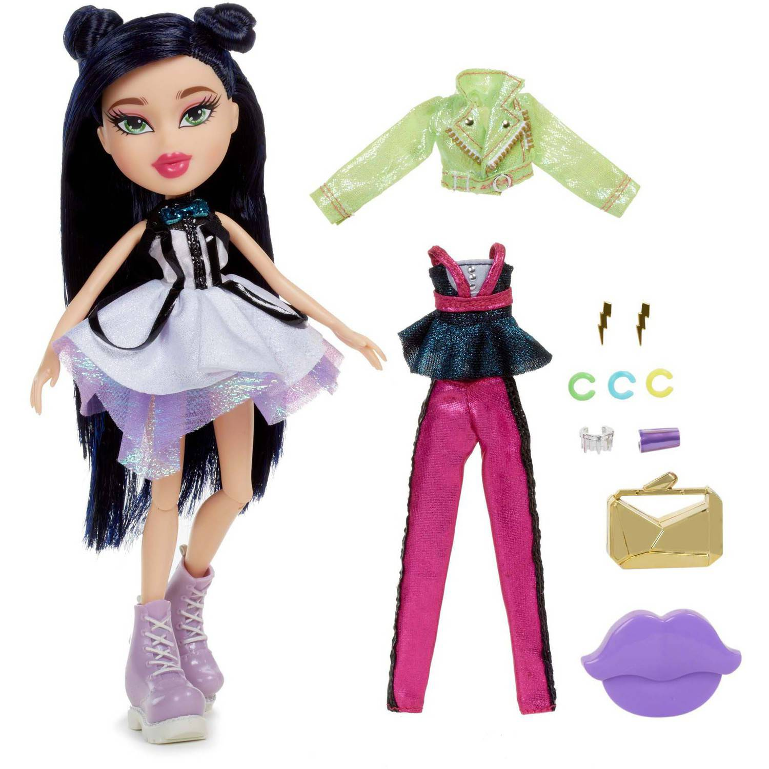 Bratz Metallic Madness Doll, Jade