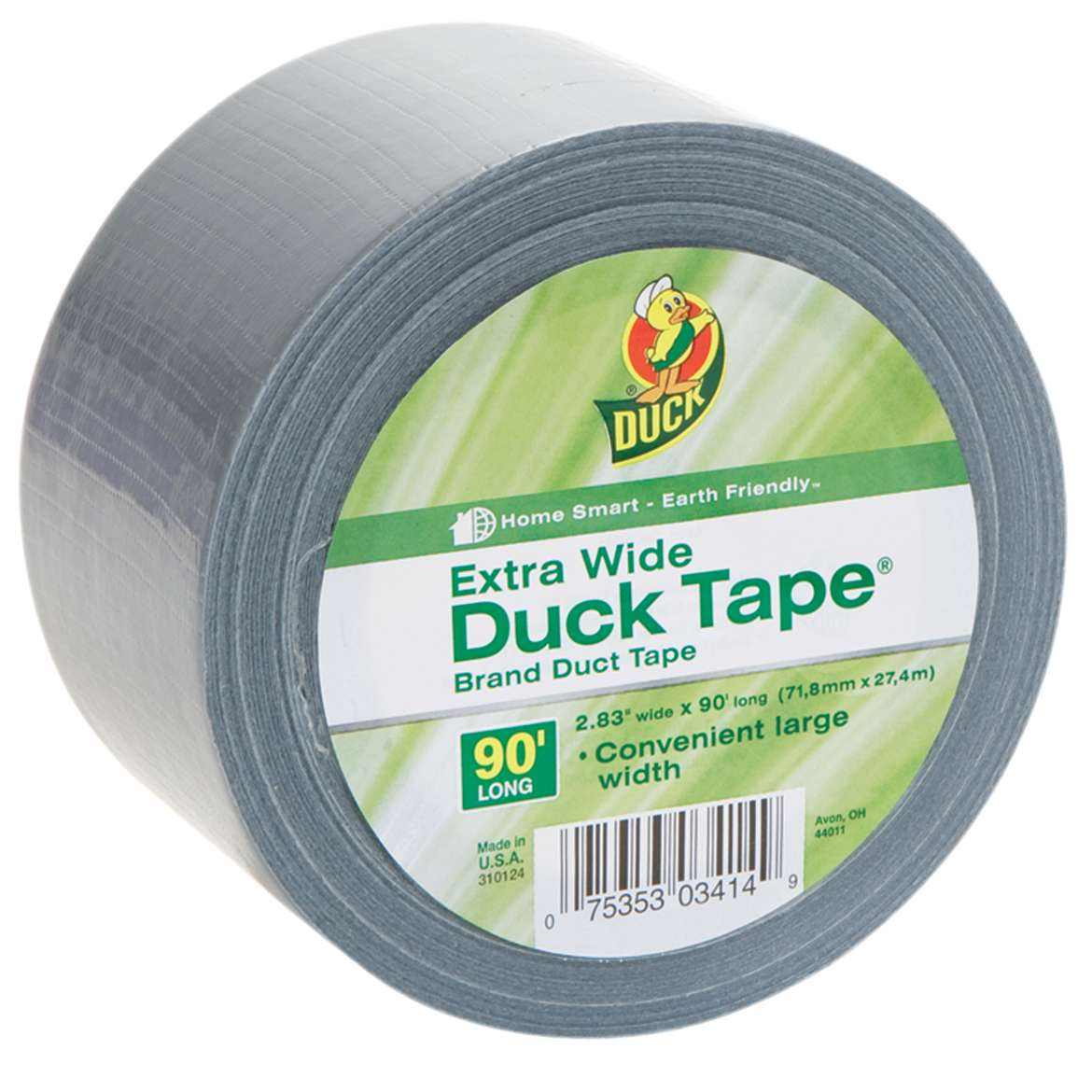 Duck Tape Brand Extra-Wide Duct Tape, 2.83 in. x 30 yards, Silver