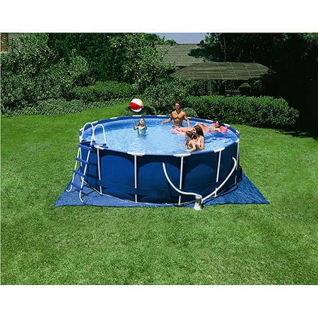 metal frame swimming pool 15 x 48
