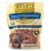 Golden Rewards Wrapped Sweet Potato With Chicken Dog Treats, 16 Oz