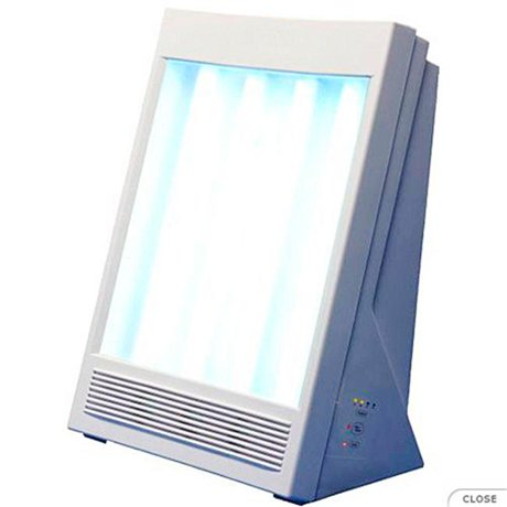 Naturebright F4040 Sun Touch Plus Ion And Light Therapy Lamp