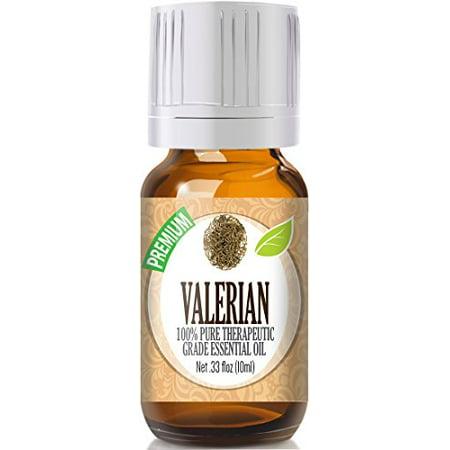 Healing Solutions - Valerian Oil (10ml) 100% Pure, Best Therapeutic Grade Essential Oil -
