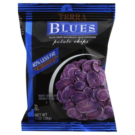 Terra Blue Potato Chips 1-Ounce Bags (Pack of (Terra Blue Potato Chips)