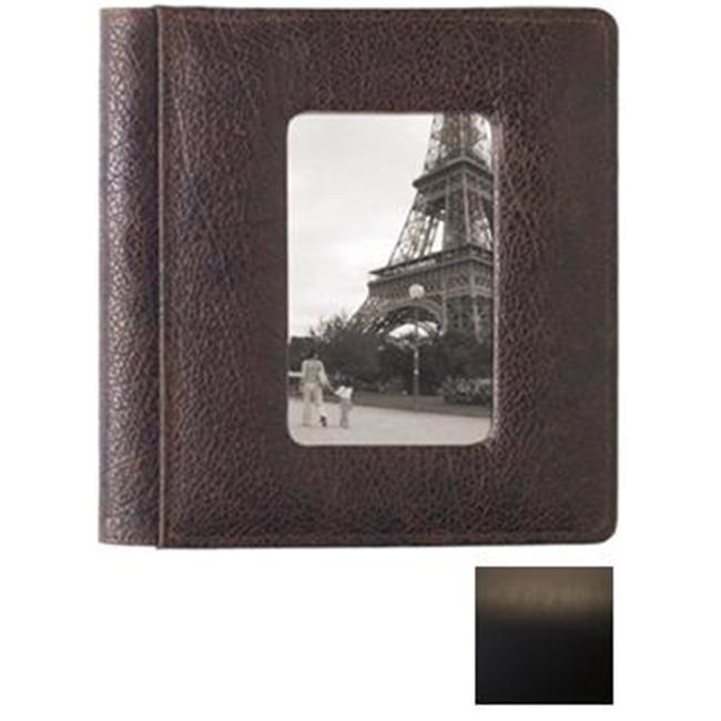 Raika SF 170 BLK Frame Front Scrapbook Album - Black